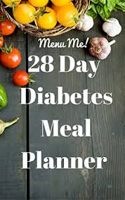 Diabetes Sample Menus Amazon Com 28 Day Diabetes Diet Meal Planner Menu Me Lower Carb