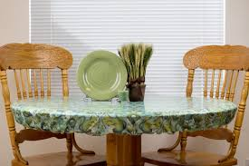 Round Plastic Table Covers With Elastic Fitted Vinyl Tablecloths Elastic Tablecloths Rectangle Tablecloths