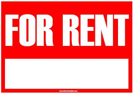 for rent sign template for lease sign template for rent sign free printable
