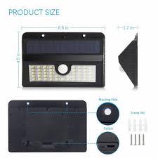 Led Buitenwandlamp Op Zonne Energie Met Sensor Shopndropnl