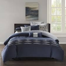 n natori nara duvet cover king size navy striped duvet cover set 3 piece 100 cotton light weight bed comforter covers souq uae
