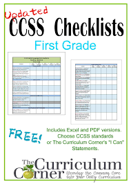 updated first grade ccss i can checklists the curriculum here are the updated 1st grade i can checklists some of you have been asking for