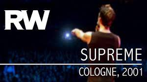 Robbie Williams   Supreme   Live In Cologne 2001 - YouTube