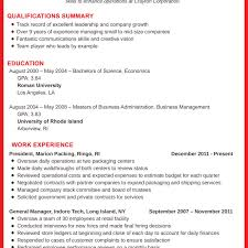 Sample Summary For Resume Luxury Resume Executive Summary Luxury