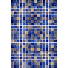 <b>Плитка</b> настенная <b>КЕРАМИН Гламур</b> голубой 27.5 х 40 см купить ...
