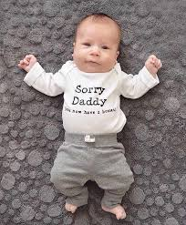 sorry daddy pregnancy announcement fathers day new baby gift daughter baby shower gift two bosses son paing new dad new mom