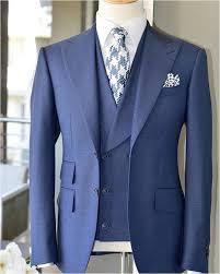 Light Blue Tuxedo Prom Us 56 22 35 Off 2019 Latest Coat Pant Design Light Blue Men Suit Slim Fit 3 Piece Tuxedo Prom Wedding Suits Custom Groom Blazer Terno Masculino In