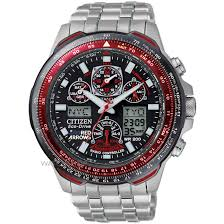 men s citizen skyhawk a t red arrows titanium alarm chronograph mens citizen skyhawk a t red arrows titanium alarm chronograph radio controlled eco drive watch jy0110