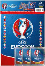 Panini 909950 - Sammelsticker UEFA Euro 2016 Starterset Hardcover Album und  3 Booster, bunt: Amazon.de: Spielzeug