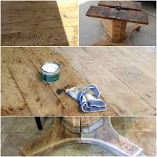 Bleached Wood Look With Liming Wax New Casa Bleached Wood