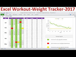 workout excel templates excel exercise planner workout calendar and weight tracker for