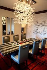 modern chandelier for dining room. Wonderful For Contemporary Dining Room Chandeliers Dramatic Cascading Unleash  Visual Splendor And Pomp Inside Modern Chandelier For R