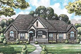 120 2077 3 bedroom 2641 sq ft country house plan 120 2077 front