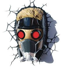 image marvel 3d light guardians of the galaxy star lord mask