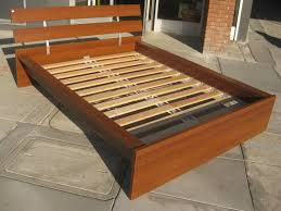 build queen size platform bed frame quick woodworking project awesome homemade king size bed frame