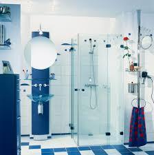 Bathroom : Blue Bathroom Shower Tile Design For Cool Girls Trendy ...