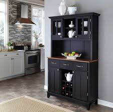 kitchen furniture hutch. Appealing Black Kitchen Hutch Cabinet Rocket Uncle Decorating Of Style And Trends Furniture N
