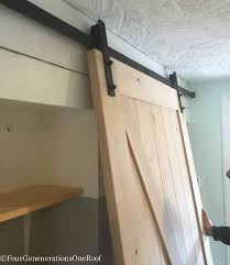 diy sliding barn doors by masonite easy to install kit which includes all rolling door