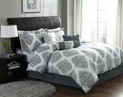 gray bed comforter grey modern sets linen amazing white and bedding silver yellow