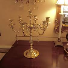 large baldwin brass 7 light candelabra to expand