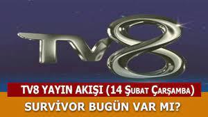 14 Şubat Çarşamba TV8 Canlı Yayın Akışı - My Memur