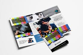 Buy Brochure Templates Videographer Trifold Brochure Template In Psd Ai Vector