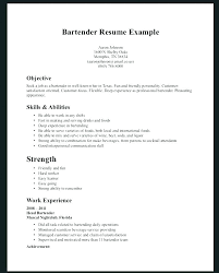 Bartender Resume Example Cool Best Resume Template Australia 48 Bartender Templates Free
