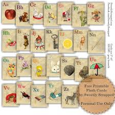 alphabet picture cards 11 sets of free printable alphabet flashcards