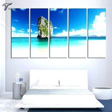 wall art canvas print ocean canvas wall art beach wall art large canvas wall painting tropical