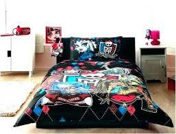 monster high twin bed set bedding bedroom twi