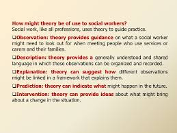 theories of social work 17