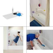 l bathtub floor repair inlay kit white