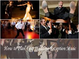 How To Plan Your Wedding Reception Music Printable List