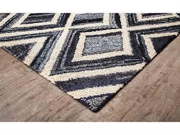 anji mountain bell bottom blues rectangular mercury area rug