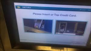 singapore mrt ez link credit card top up