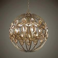 metal sphere chandelier uttermost 8 light gold sphere chandelier lighting metal sphere crystal chandelier
