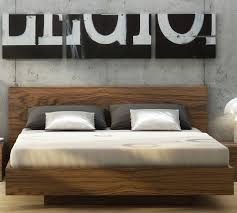 Float Platform Bed | Walnut ...