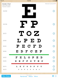 Snellen Chart Pdf Eye Chart Pro Test Vision And Visual Acuity Better With