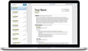 Free Resume Generator Download Cv Creator Software Maker Freeware