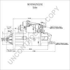 prestolite leece neville m105r2502se side dim drawing output curve m105r2502se output curve wiring diagram