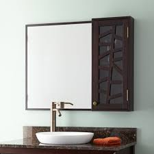 louise medicine cabinet  dark brown  bathroom