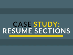 Creating A Perfect Resume Creating The Perfect Resume Resume Sections