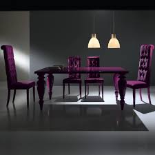 italian lacquer dining room furniture. Modern Italian Lacquered Purple Dining Room Set Lacquer Furniture E