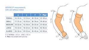 Mcdavid Compression Arm Sleeve Sizing Chart Sigvaris Advance 20 25 Mmhg Black Compression Sleeve