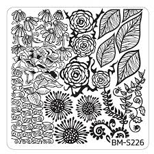 Spring Themed Nail Art Stamping Plates - Occasions Collection, BM ...