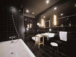 Wonderful Bathroom Tile Design Ideas Black And Bathroom Design Black Fascinating Black Bathroom Tile Ideas