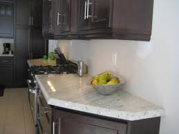 Granite Kitchen Accessories Dark Paint Wall Kitchen Cabinet Using Chrome Handle Door Over