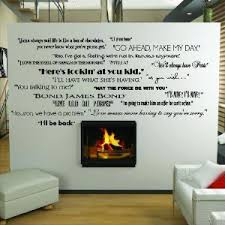 Small Picture Amazoncom Classic Movie Quotes wall saying vinyl lettering home
