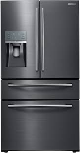 samsung refrigerator drawer.  Samsung RF28JBEDBSG 36 Inch Samsung Black Stainless Steel Refrigerator French Door With Drawer R