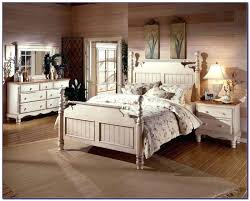 White Distressed Bedroom Furniture Innovative Wood Great Home Bed